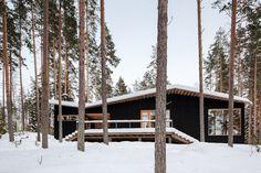 Nordic Noir: 7 Scandinavian Homes Enveloped in Black - Architizer