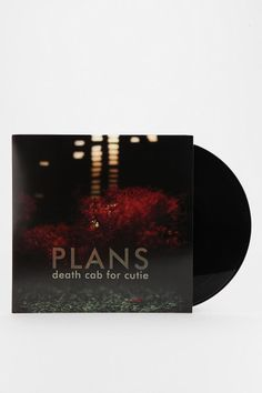 Death Cab For Cutie - Plans 2XLP AWESOME album....these guys were great in concert too...@Stacie comtois