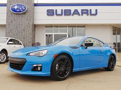 Hello gorgeous!  We'd like to introduce the 2016 Subaru BRZ Series.HyperBlue limited edition! Now in stock at Ferguson Subaru!