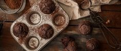 Τα muffins σοκολάτας χωρίς ζάχαρη που θα λατρέψετε