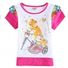 Camiseta Gatinhos Meninas