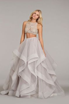Hayley Paige crop top/separates wedding dress // Top Wedding Dress Trends for 2015 - Part 1