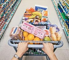 GO POWER GROCERY SHOPPING: Up the health ante of your grocery cart with our good/better/best nutritional guide