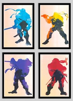 TMNT art prints in the 2k3 style - awesome.
