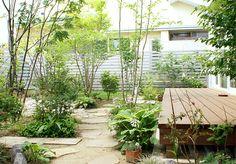 施工例67 Dry Garden, Green Garden, Garden Paths, Home And Garden, Plant Design, Garden Design, Home Landscaping, Garden Styles, Beautiful Gardens