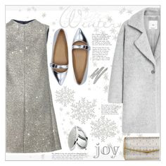 """""""~Silver for Celebrating~"""" by suzanne228 ❤ liked on Polyvore featuring Too Faced Cosmetics, Yves Saint Laurent, Marc by Marc Jacobs, MANGO, Buccellati and Winter"""