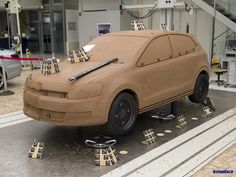 Volkswagen VW Polo Clay model