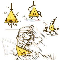 MaBill | Bill Cipher\Mabel Pines| Gravity Falls