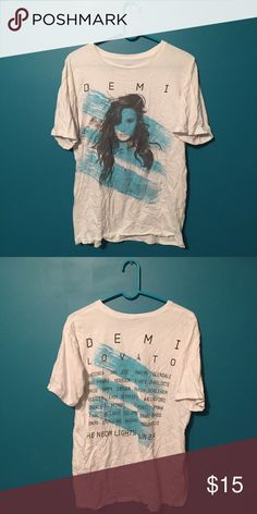 Demi lovato brushstrokes official tour shirt super soft and comfy, f21 for vis Forever 21 Tops Tees - Short Sleeve