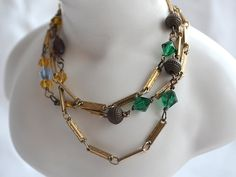 Victorian Layering Necklace  Vintage by EteNostalgiqueDeLuxe, $49.00