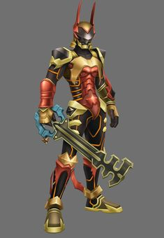 Keyblade Armor from Kingdom Hearts: Birth by Sleep