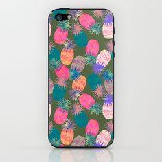 Pina Colada Bright iPhone & iPod Skin by Schatzi Brown - $15.00