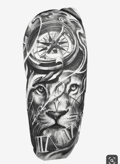 tattoo designs men arm * tattoo designs men _ tattoo designs men forearm _ tattoo designs men sleeve _ tattoo designs men arm _ tattoo designs men small _ tattoo designs men chest _ tattoo designs men shoulder _ tattoo designs men with meaning Lion Tattoo Sleeves, Arm Sleeve Tattoos, Tattoo Sleeve Designs, Tattoo Designs Men, Hand Tattoos, Forarm Tattoos, Tatuajes Tattoos, Chicano Tattoos, Clock Tattoo Design