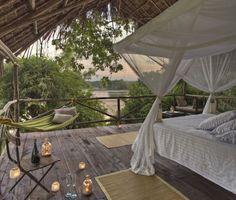 The Retreat Selous An enchanting refuge in Tanzania. Africa! My dream honeymoon destination.