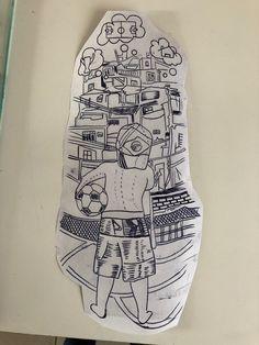 Paulinho Soccer Tattoos, Football Tattoo, Leg Tattoos, Arm Tattoo, Body Art Tattoos, Sleeve Tattoos, Tattoos For Guys, Sketch Tattoo Design, Tattoo Sketches