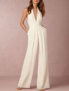 Shop Jumpsuits - Plus Size Sleeveless Sexy Jumpsuit online. Discover unique designers fashion at StyleWe.com.