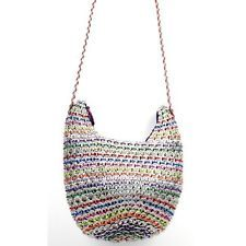 "HANDCRAFTED ""HOBO"" SHOULDERBAG, RECYCLED POP TOPS"