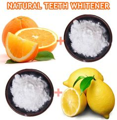 NATURAL TEETH WHITENING METHODS - ORANGE