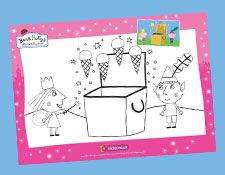 Ben and Holly's Little Kingdom - Colouring Sheets