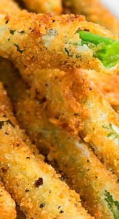 CRIPSY FRIED GREEN BEANS