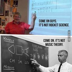 As a music major I find this hilarious. - 9GAG