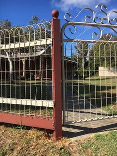 decorative wire fencing | Outdoor Ideas | Pinterest | Metal fences ...
