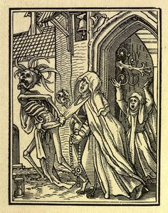 Hans Holbein's Dance of Death Art Prints, Hans Holbein, Painting, Painting Reproductions, Danse Macabre, Most Famous Paintings, Dance Of Death, Art, Woodcut