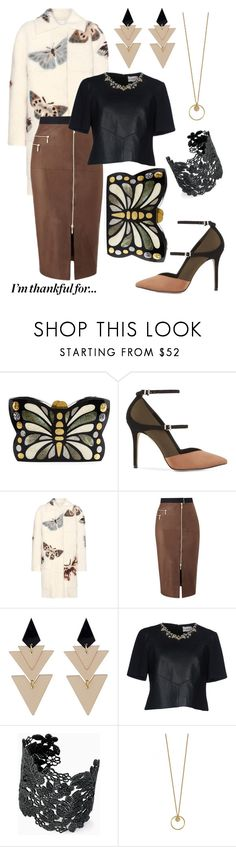 """""""Monarch"""" by lachicamercedes ❤ liked on Polyvore featuring Rafe, Reiss, Valentino, Amanda Wakeley, Toolally, Erdem, Stella & Dot, Fall, thanksgiving and polyvorecontest"""
