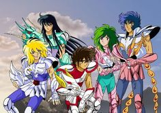 Caballeros del Zodiaco!! Used to watch this as a little girl!!