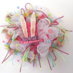 Easter Wreath created by Gina Carter-Small, Bluegrass Kraft Korner - Facebook Group