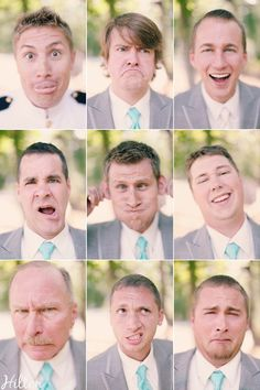 poses for groomsmen