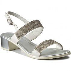 Sandále JENNY FAIRY - WS1775A-1 Biela