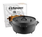 Der Petromax Feuerofen, auch als Dutch Oven bezeichnet, besteht aus extrem robustem Gusseisen in traditionsreicher Petromax-Qualität. Der Feuertopf ist eine sehr praktische Kochmöglichkeit im Krisenfall, aber bereits jetzt ein idealer Begleiter für Camping-, Outdoor- und Freizeitaktivitäten. Mit ihm gart man Speisen sehr schonend über offenem Feuer oder im Backofen. http://kurzurl.net/Petromax-Feuertopf