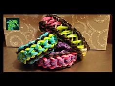 Videos - YouTube [-: Double Capped Dragon Scale Infinity Infinity on the Rainbow Loom