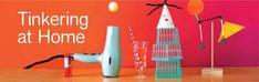 Tinkering at Home   Exploratorium