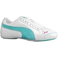 Puma Women's Janine Dance TL Shoe,White/Ceramic « Shoe Adds for your Closet