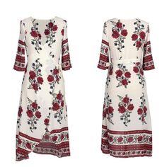 Vestidos estilo Boho longo maxi feminino moda verão para noite, festa, coquetel vestido de praia vestido de verão | Roupas, calçados e acessórios, Roupas femininas, Vestidos | eBay!
