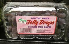Jelly Drops Grapes Cotton Candy Grapes, Grape Juice, Jelly, Lunch Box, Drop, Eat, Bento Box, Jelly Beans, Jello