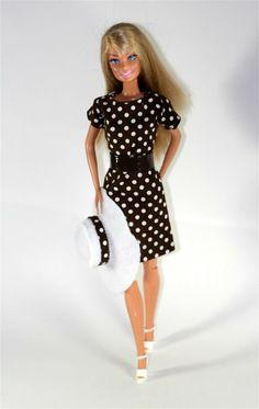 Barbie Clothes Pretty Woman Inspired Dress von ChicBarbieDesigns