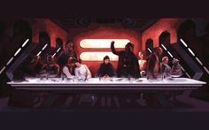 """zombie last supper 