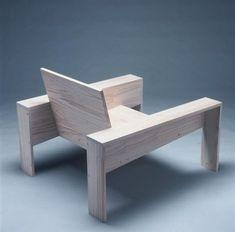 SILLÓN. madera. exterior