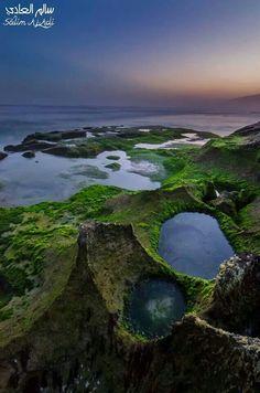 Beach of Dhalkot - Oman The Beautiful Country, Beautiful Places, Places To Travel, Places To Visit, Sultanate Of Oman, Salalah, Arabian Peninsula, Arabian Sea, Oman Travel