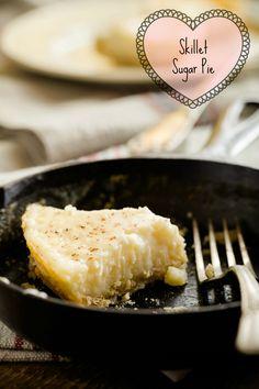 Skillet Sugar Pie