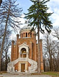 The chapel, Stirbei Palace, nearby Bucharest www.romaniasfriends.com