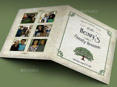 family reunion booklet templates koni polycode co