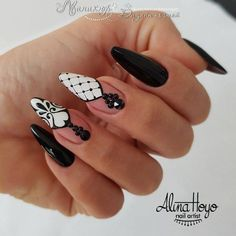No name - #nails #stiletto #stilettonails #nail