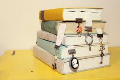 Marcador de livro vintage: como fazer