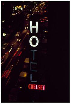 Rita Barros, Chelsea Hotel Neon Sign, NY, 1990, vintage cibachrome