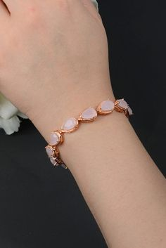 Blush pink bracelet ,Opal Pink,Bridesmaids,Personalized Bridesmaids Gift,Crystal Stud Earrings, Bridesmaids Studs, Bridesmaids Gifts & cards