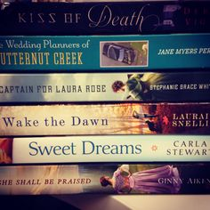 New and upcoming fiction from FaithWords. Including @Carla Stewart's Sweet Dreams!